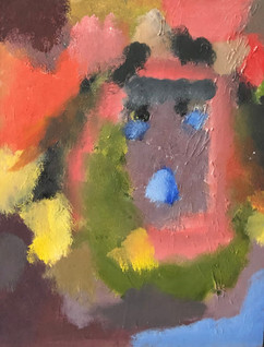 """Colorful Self Portrait"" by Nierra Dyer"