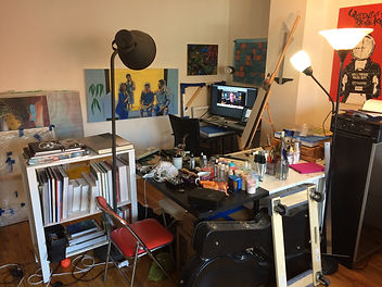 Hryanskim NYC home studio