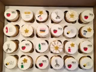 Pre-School Graduation Cupcakes