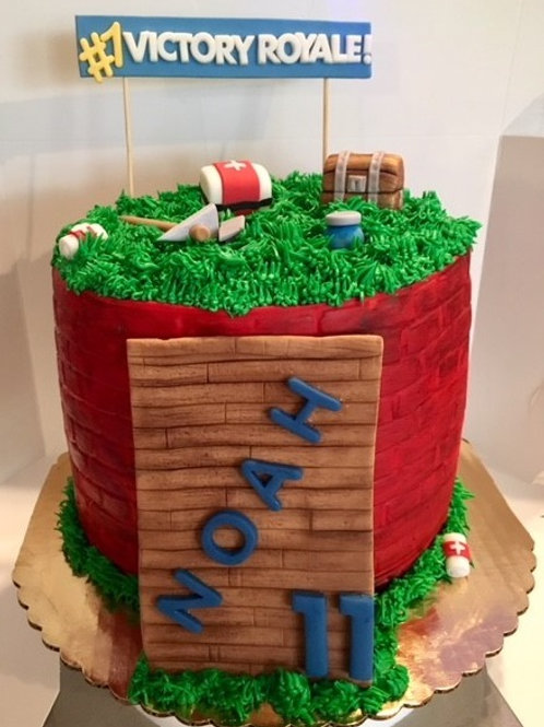 Small Fondant Cakes