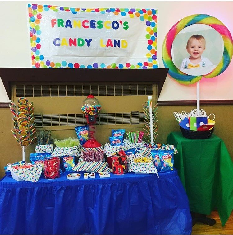 First Birthday Candy Table