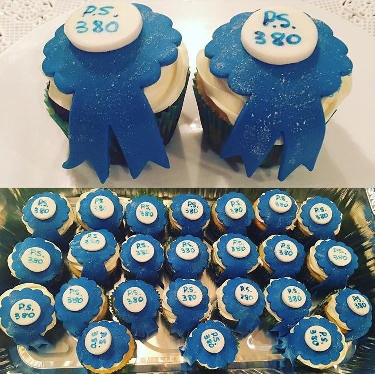School Fundraiser Cupcakes
