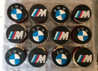 BMW M3 Birthday Cupakes