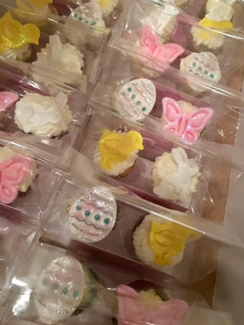 Easter/Spring Mini Cupcakes