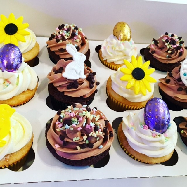 Spring/Easter Cupcakes
