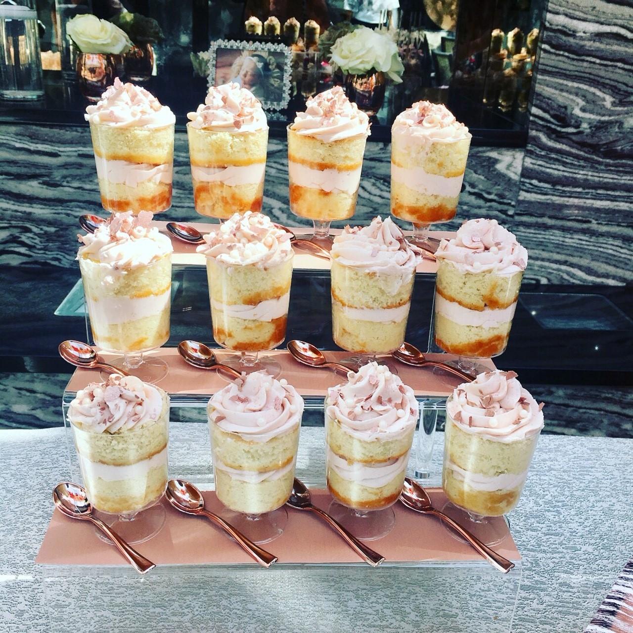Christening Cake Cups