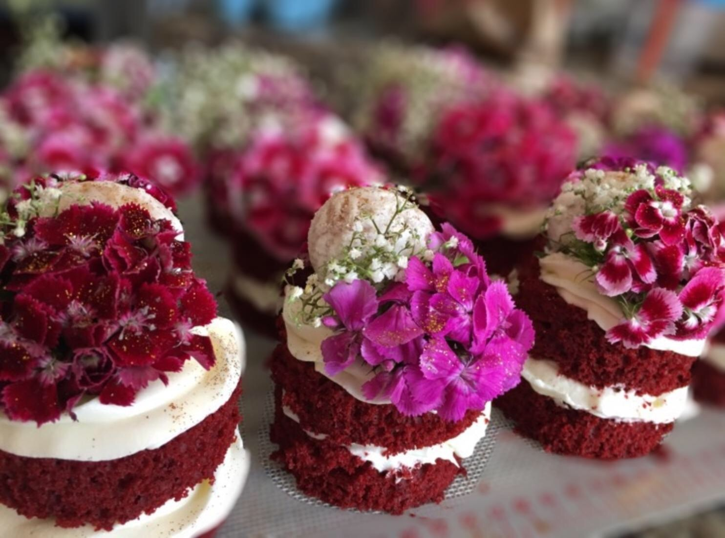 Red Velvet Mini Stacks