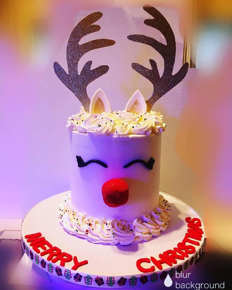 Surprise Inside Rudolph Cake
