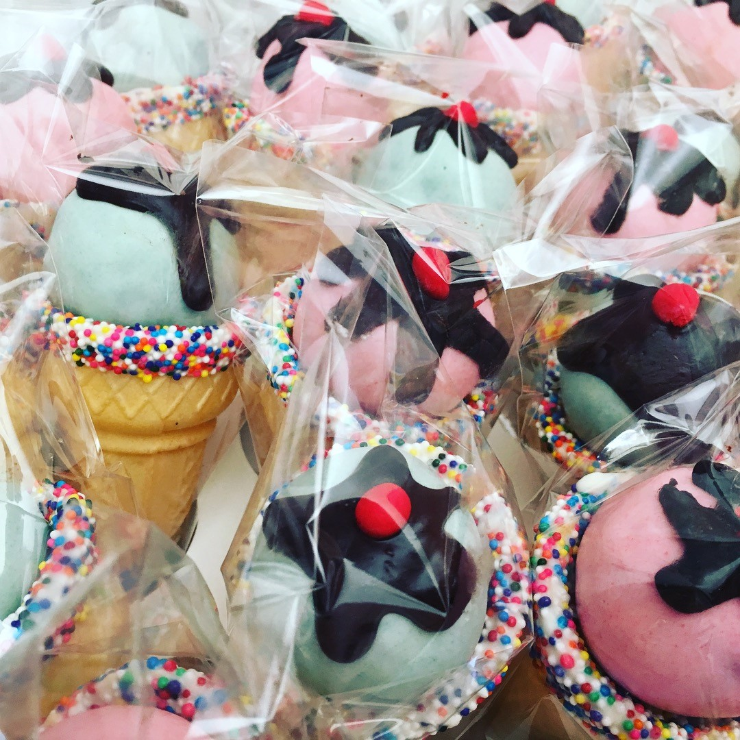 Ice Cream Themed Cakepops