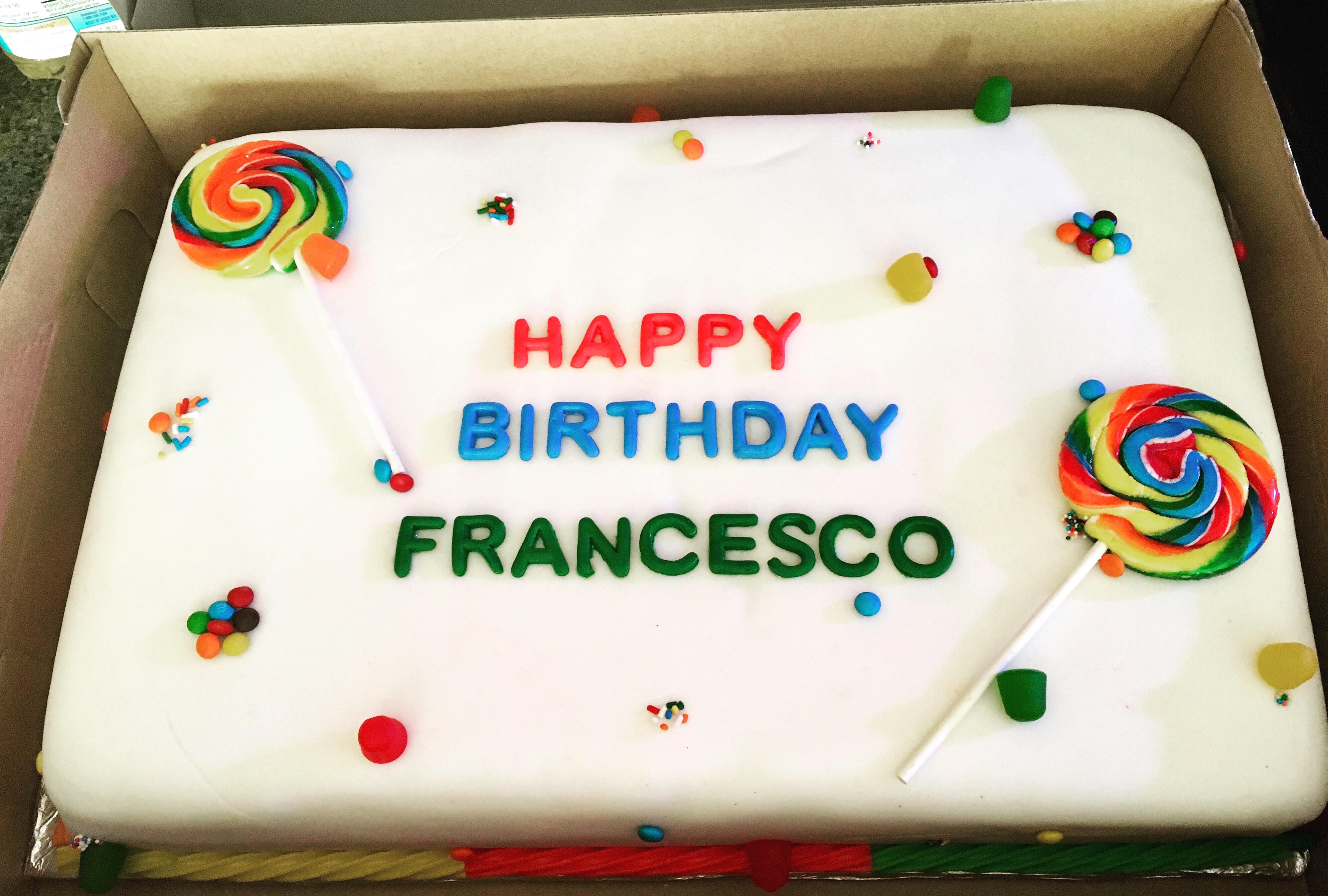 Special Order Birthday Cake