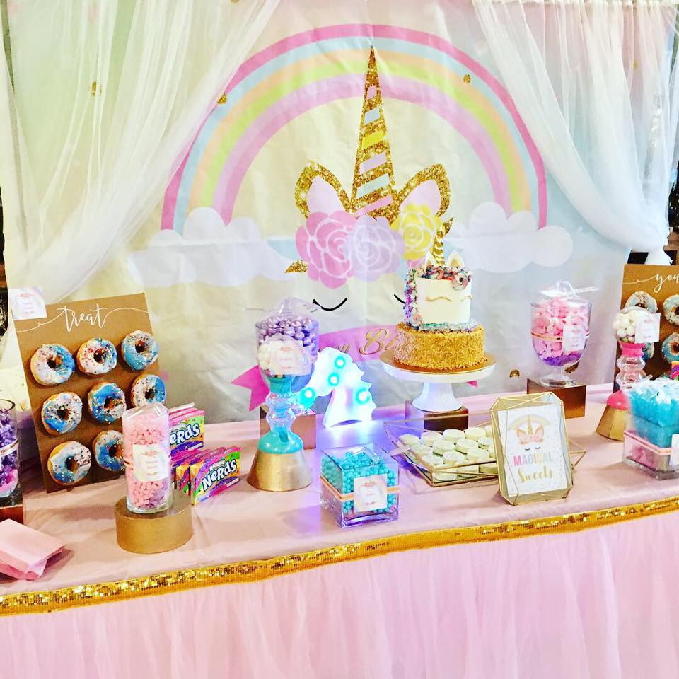 Unicorn Treat Table