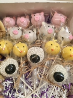 Farm Animal Cakepops