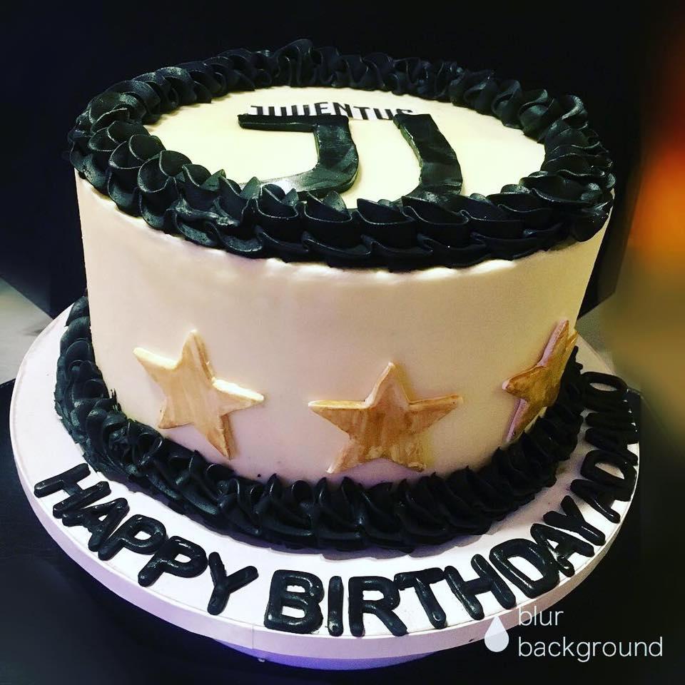 Juventus Soccer Team Cake