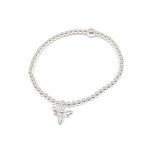 Daisy Bee Bracelet - Silver