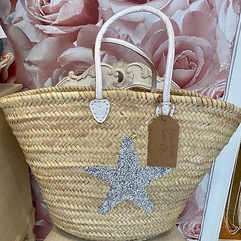 Sequin Starfish Basket
