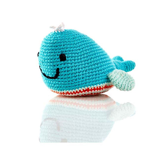 Rattle – whale – Deep Turquoise