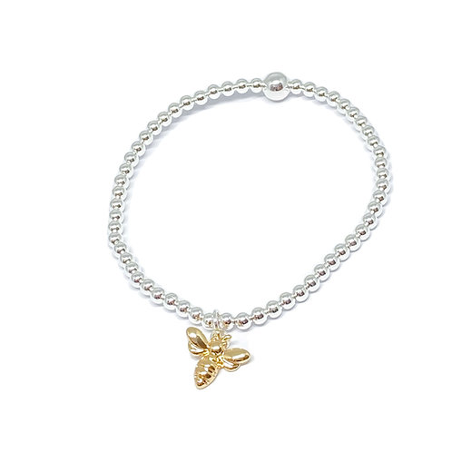 Daisy Bee Bracelet - Gold