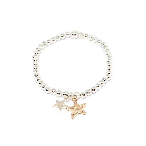 Grace Star Bracelet - Rose Gold