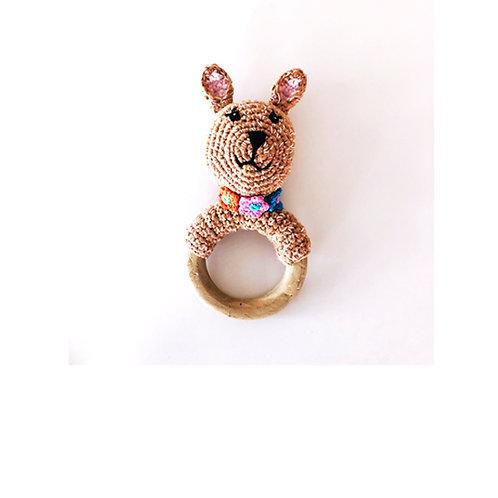 Deer - Wooden teething ring