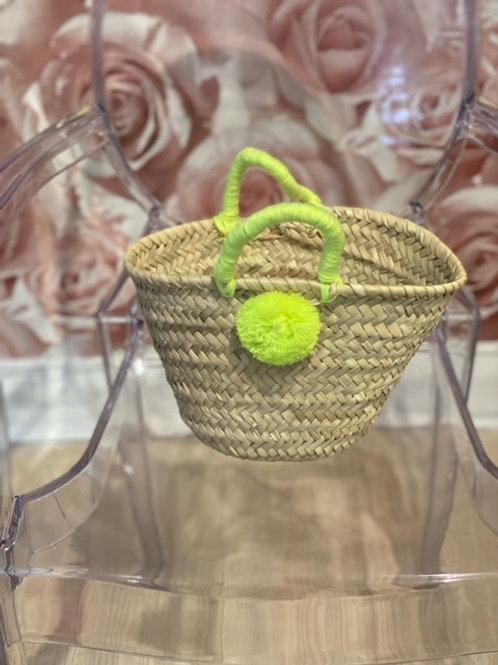 Baby Pom Pom Basket