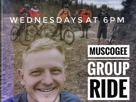 Wednesday Group Ride @ Muscogee 6PM