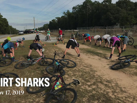 Youth Mountain Bike Team - Dirt Sharks