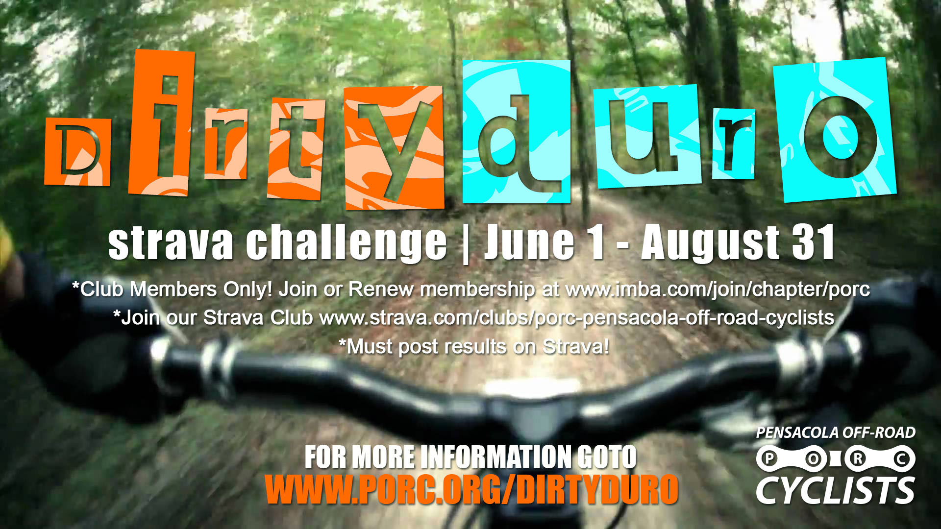 DIRTYDURO CHALLENGE | Pensacola Off-Road Cyclists