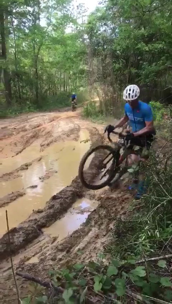 Scratch Ankle Mud Hole