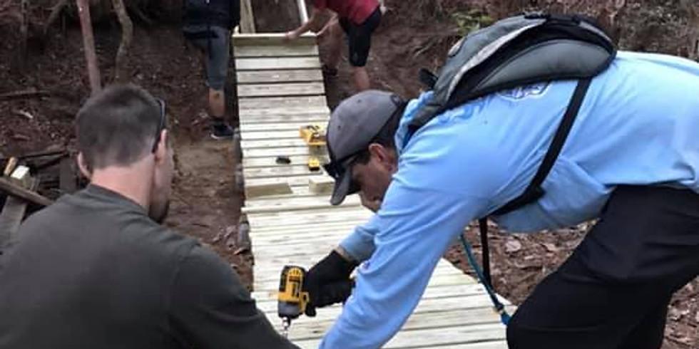 Trail Work - UWF (June 12, 2021)