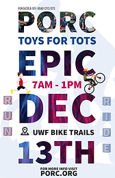12th Annual PORC EPIC, to Benefit Toys for Tots in Northwest FL