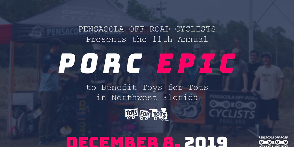 11th Annual PORC EPIC, to Benefit Toys for Tots in Northwest Florida