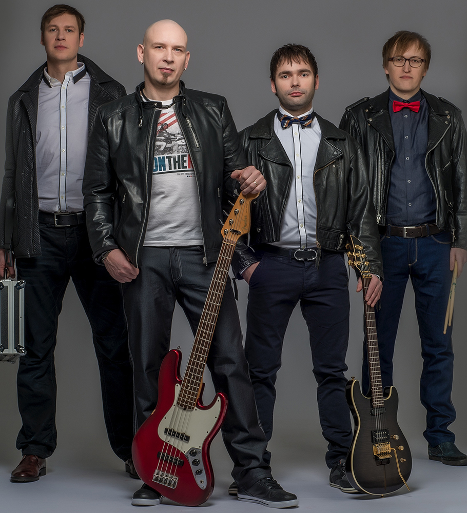 Rockband 4 men