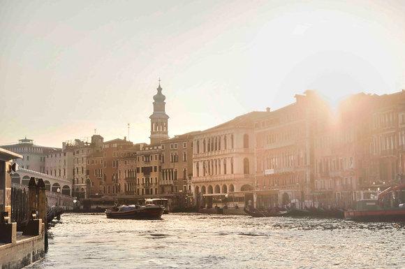 L'alba a Venezia