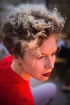 Anna Mabo, Portraitfotoshooting, Künstlerportrait