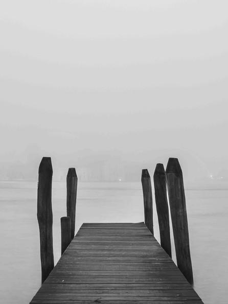 Nebel in Venedig