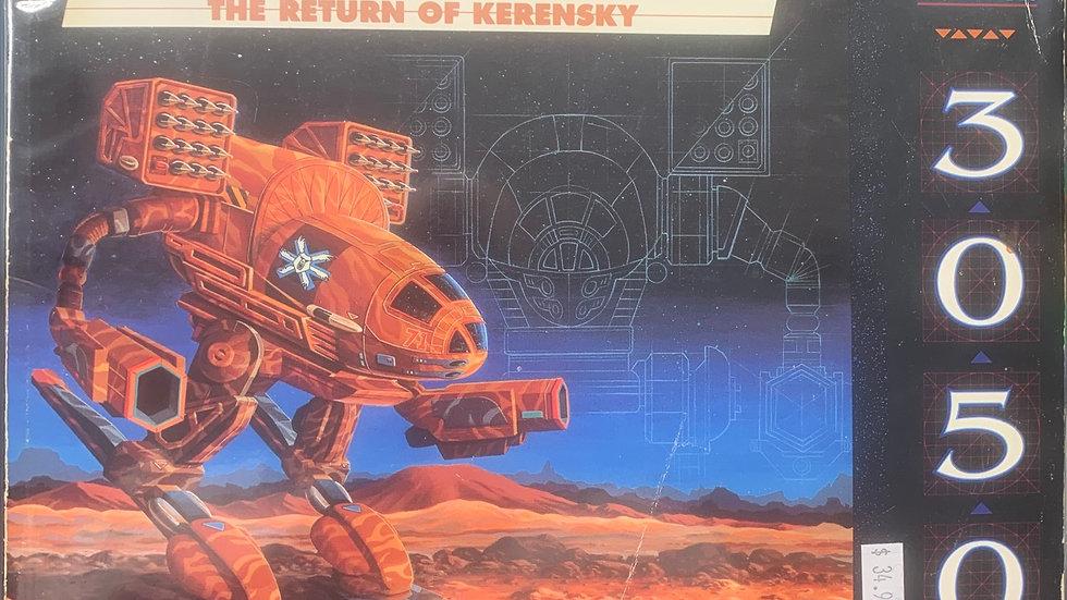 Battletech RPG return of kerensky technical readout 8614