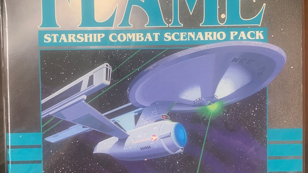 Star Trek RPG White Flame starship combat scenario pack