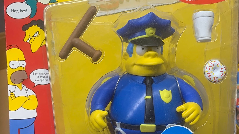 Simpson's figure - Chief Wiggum