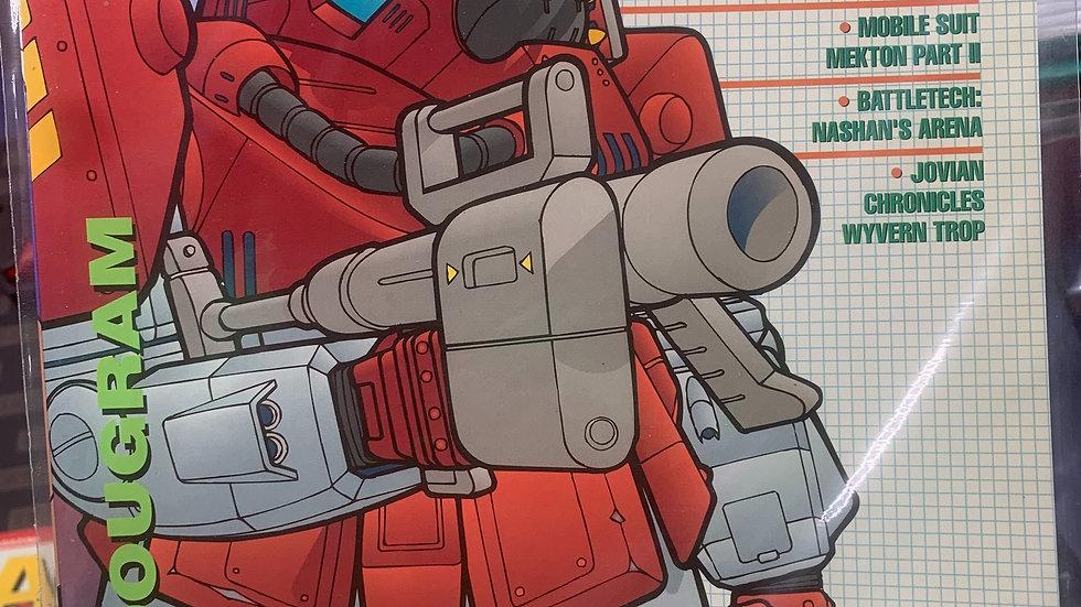 Mecha press anime model and game magazine #11