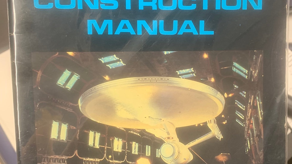 Star Trek 2 RPG wrath of khan ship construction manual