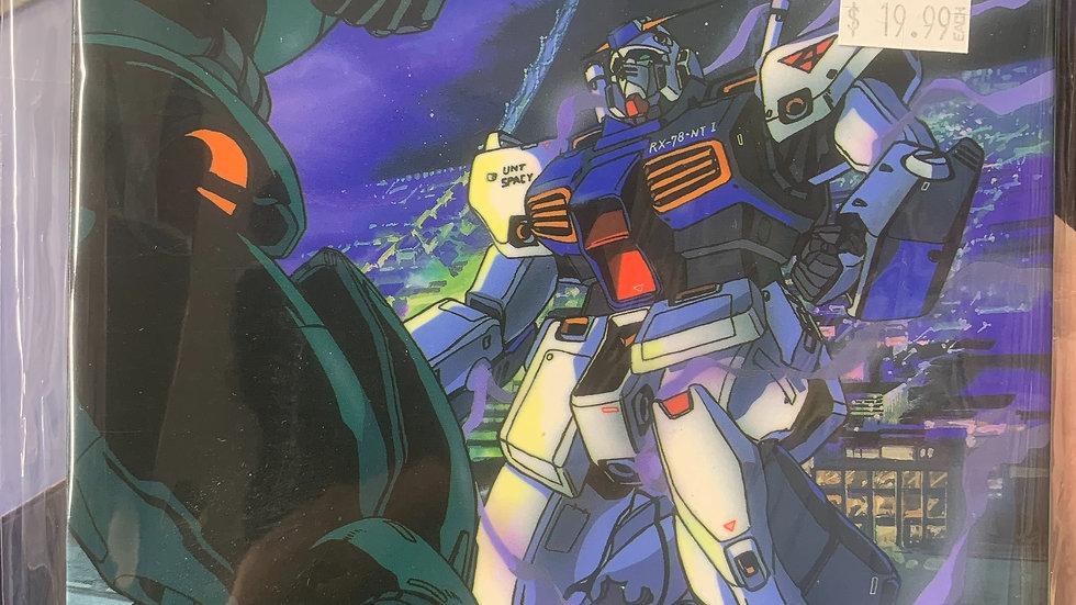 "Gundam 0080 ""War in the pocket"" b-club visual comic"