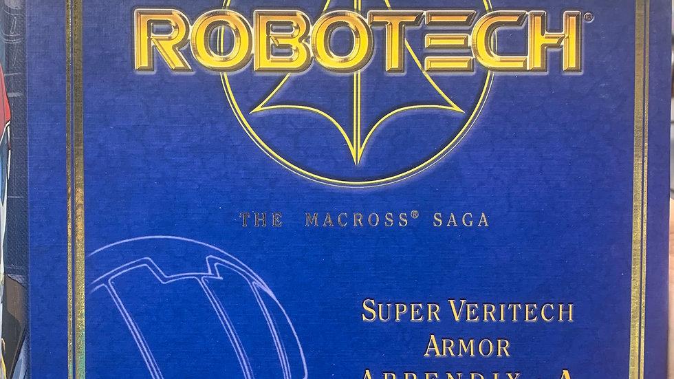 Robotech Masterpiece Collection VF-1S Rick Hunter Super Veritech Armor