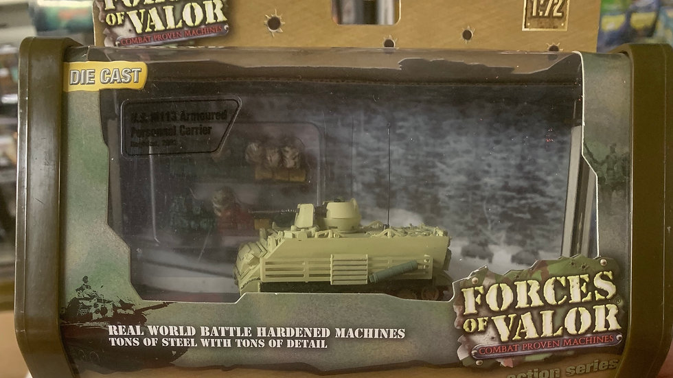 Forces of Valor die cast US M113 Armoured Personal Carrier 1:72