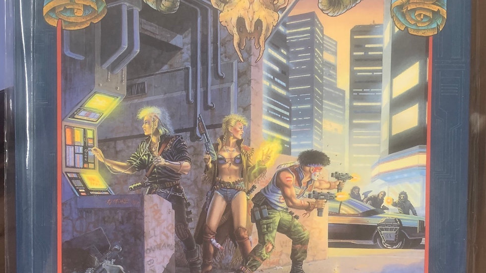 Shadowrun RPG 7101 Where man meets magic and machine