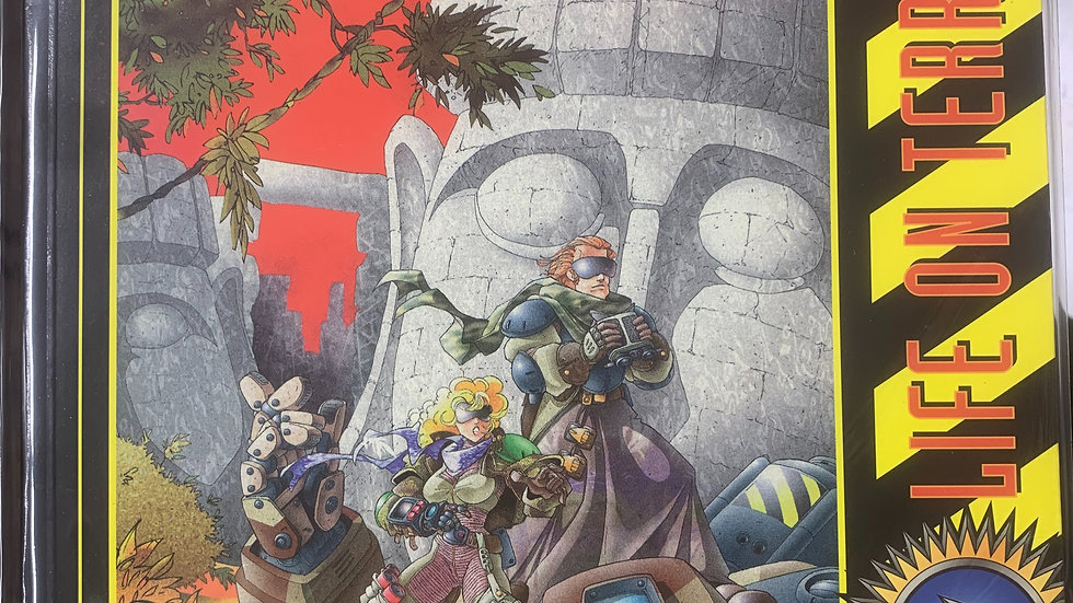 Heavy Gear RPG Life on Terra Nova sourcebook