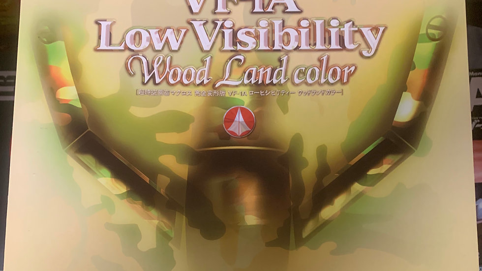 macross vf-1a low visibility woodland color 1/48