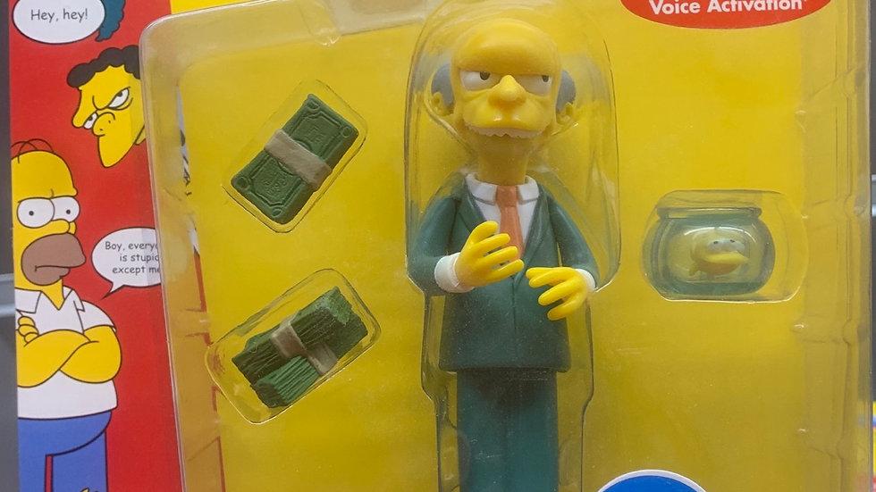 Simpson's Montgomery Burns figure