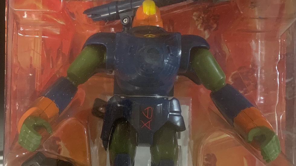 "Exo Squad Zentraedi Power Armor Quadrono Battalion Mecha 7"" damaged package"