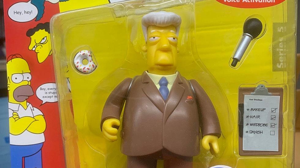 Simpson's figure - Kent Brockman