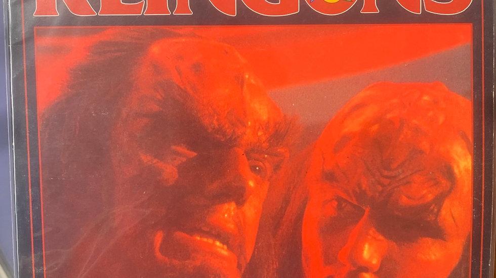 Star Trek RPG The Klingons Star fleet intelligence manual